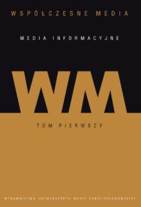 okłaladka tomu Wspolczesne Media